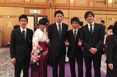 平成26年度香川大学医学部卒業祝賀会